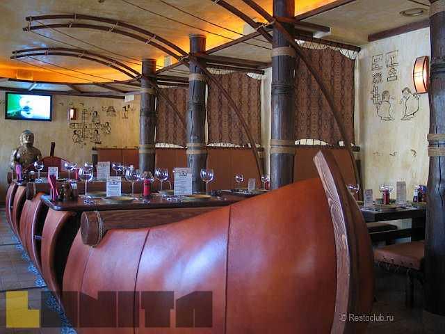 Мебель ресторан викинг фото