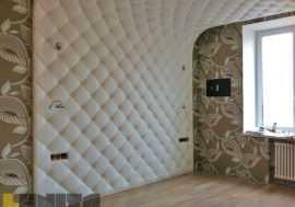 Облицовка стен декоративной панелью