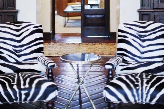 Анималистические принты и их использование в мебельной обивке