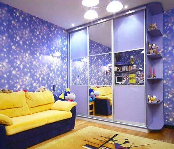 Шкаф-купе для десткой спальни. Что нельзя, а что можно?