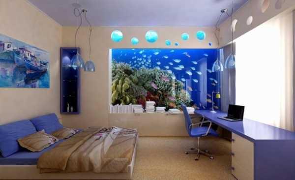 Мебель для загородного коттеджа в морском стиле