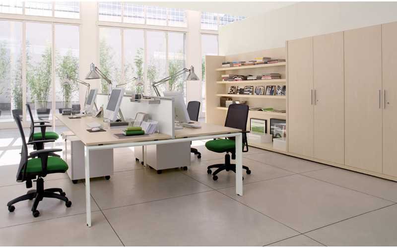 Как увеличить работоспособность коллектива по средствам офисной мебели?