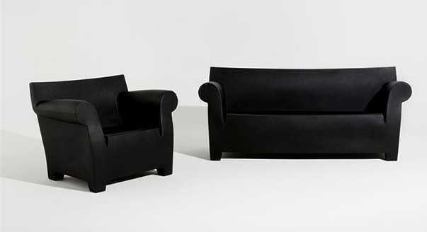 Бескаркасная современная мягкая мебель