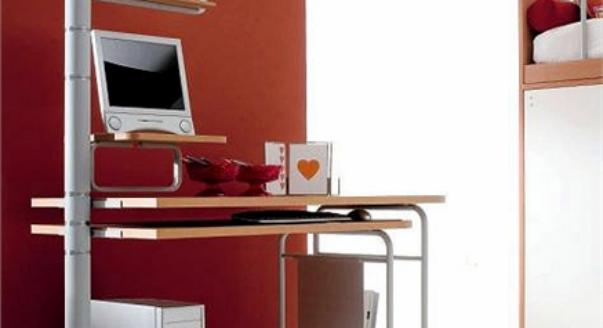 Компьютерный стол - формы, конструкции, варианты комплектации