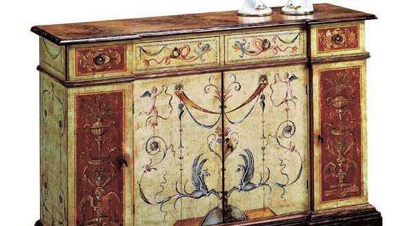 Конструкция шкафа для столовой