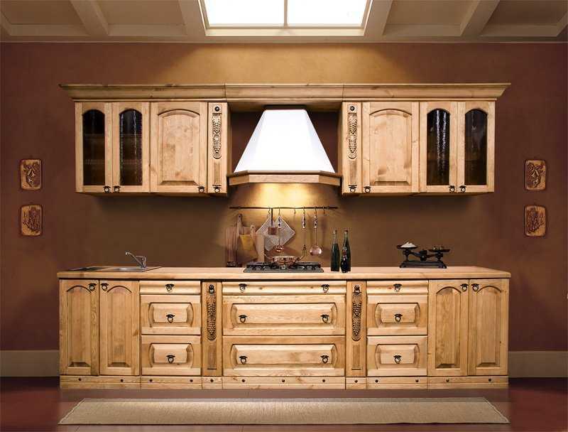 Мебель из натурального дерева - качество и роскошь