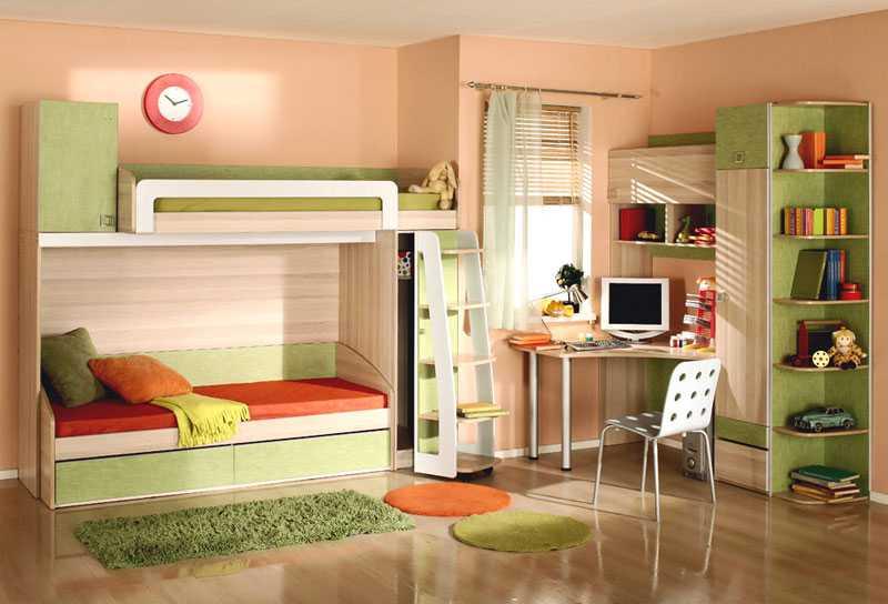 Выбираем мебель для детской в зависимости от возраста ребенка