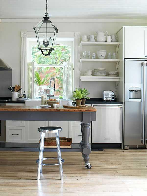 Мобильная барная стойка на кухне. Как это сделать?