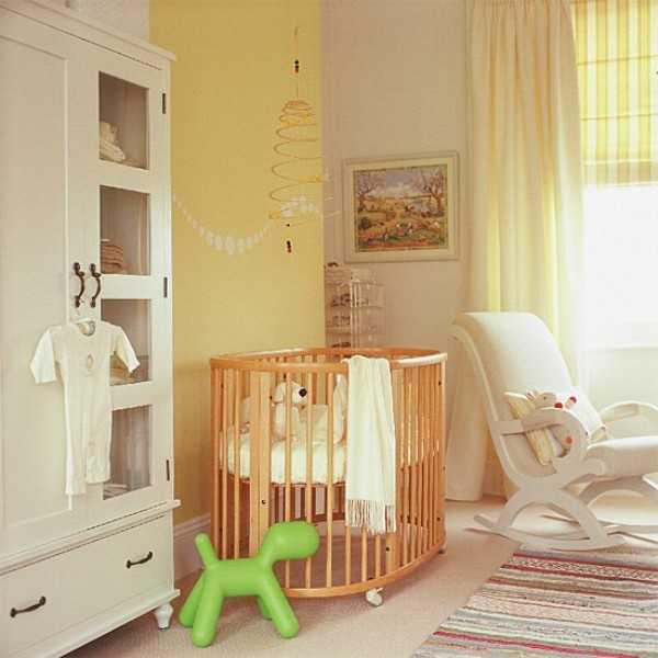 Мебель из натуральных материалов для младенцев